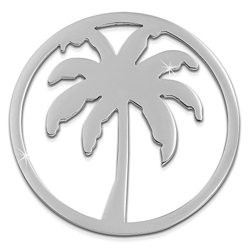 Amello Stainless Steel Coin Palm, Stainless Steel Jewelry, Original Amello Esc515J