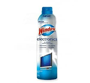 Windex DRACB702288 Electronics Cleaner Aerosol 9.7 oz., N/A