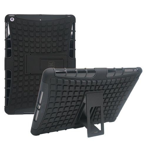 Kayscase Armorbox Heavy Duty Protection Cover Case With Stand For Apple Ipad Air 5Th Generation 2013(Black)