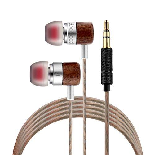 dodocool  3.5mmカナル型イヤホン ステレオヘッドセット HIFIに付き 中高音 Samsung iPhone Tablets MP3に対応