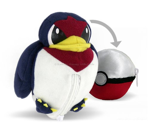 Pokemon : Tailow Pokeball Flip-out Plush Toy
