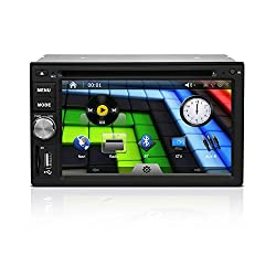 See Being Lucky G33UN04 6.2 inch Universal 2 Din Car DVD GPS with buttons on one side Details