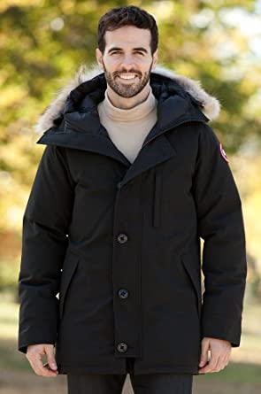 Overland Sheepskin Co Mens Chateau Canada Goose Down Parka by Overland Sheepskin Co