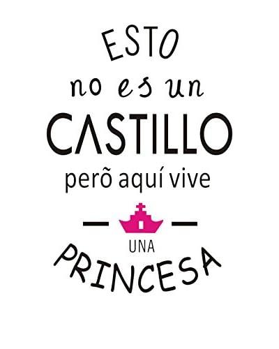 LO+DEMODA Vinilo Decorativo Princess Negro