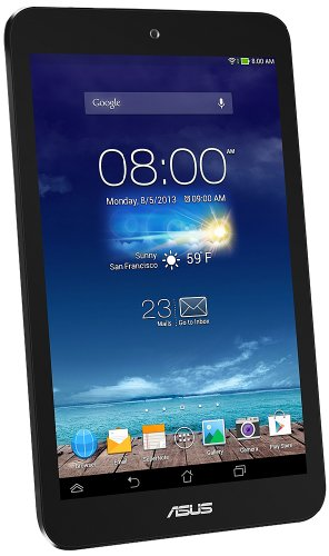 ASUS ME 180 series TABLET / grey (Android 4.2.2 / 8 inch touch and ARM Cortex-A9 / 1 G / 16 G / BT3) ME180-GY16