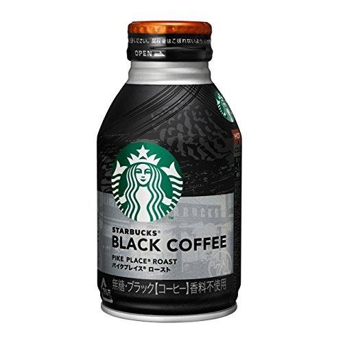 スターバックス ブラックコーヒー パイクプレイス ロースト 275g×24本