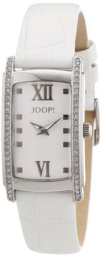 Joop JP101292F06 - Reloj analógico para mujer de cuero blanco