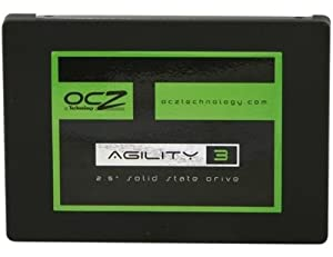 OCZ Technology 120GB Agility 3 Series SATA 6Gb/s  2.5-Inch Midrange Performance Solid State Drive (SSD) with Max 525MB/s Read and  Max 85K IOPS- AGT3-25SAT3-120G