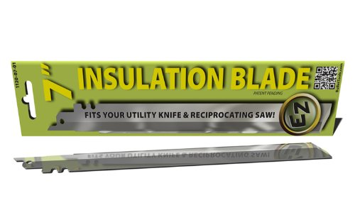 Bullet Tools 1120-07-01 Ez Insulation Blade, Versitile Construction Knife