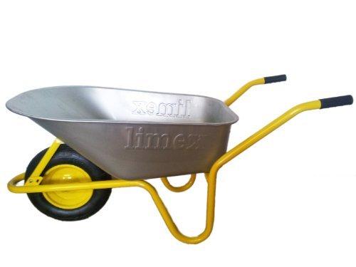 Bauschubkarre-gelb-100l-Mulde-NEU2-WAHL