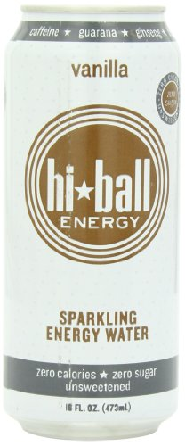 Hi Ball Sparkling Energy Water, Vanilla, 16 Ounce (Pack of 12) (Energy Drinks Red Line compare prices)