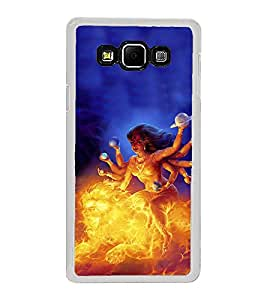 ifasho Godess Durga Back Case Cover for Samsung Galaxy A8