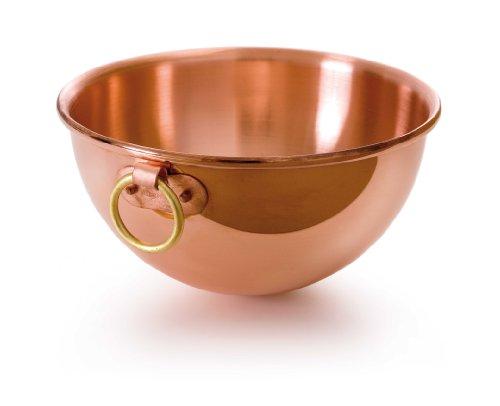 Mauviel M'Passion 2191.26 Copper 10-Inch/4.6L/4.9-Quart Egg White Bowl with Ring