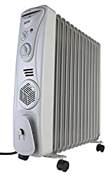 Usha OFR 3511F 2300-Watt Oil Filled Radiator (White)