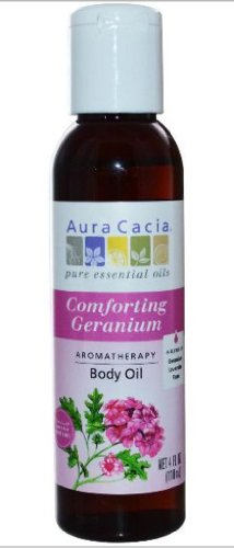 Aura Cacia Aromatherapy Body Oil, Heart Song, 4-Ounce Bottles (Pack of 4)