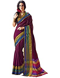 Miraan Handwooven Printed Cotton Saree For Women - B019PW5LHA