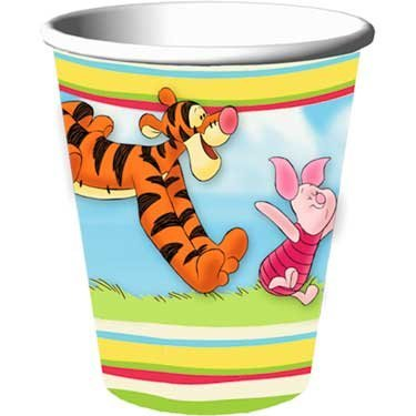 Pooh and Pals Party Cups 8 Pack