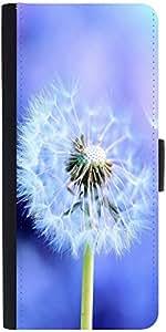 Snoogg White Dandelions Designer Protective Phone Flip Case Cover For Htc Desire 526G Plus