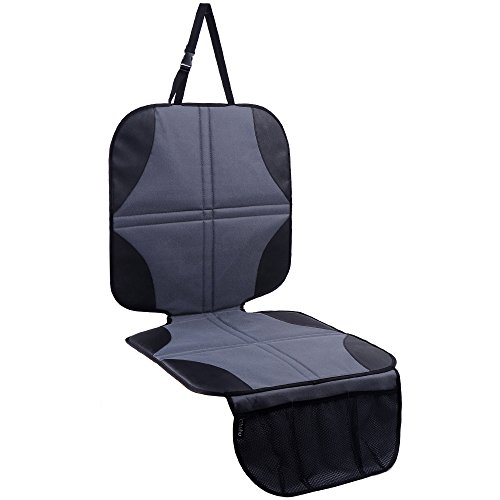 Ohuhu Baby Child Car Auto Carseat Seat Protector Cover Dog Mat Vehicle Cover With Organizer (Black) (Car Baby Seat compare prices)