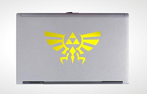 Legend Of Zelda Hyrule Vinyl Laptop Decal - Vinyl Sticker front-311731