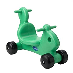 CarePlay 2003S Squirrel Ride-On Walker - Green