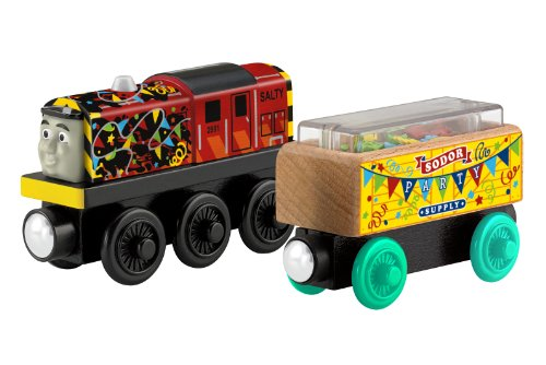 Fisher-Price Thomas the Train Wooden Railway Celebration Salty