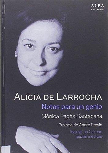 Alicia De Larrocha (+ CD) (Trayectos)