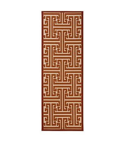 Tapis a Porter Alfombra Veranda Ocre/Beige 80 x 230 cm