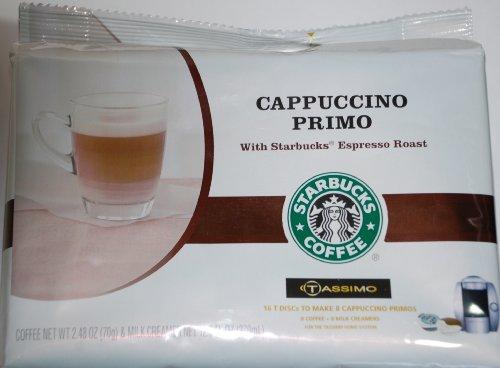 Starbucks Cappuccino Primo for Tassimo - 2 Pack