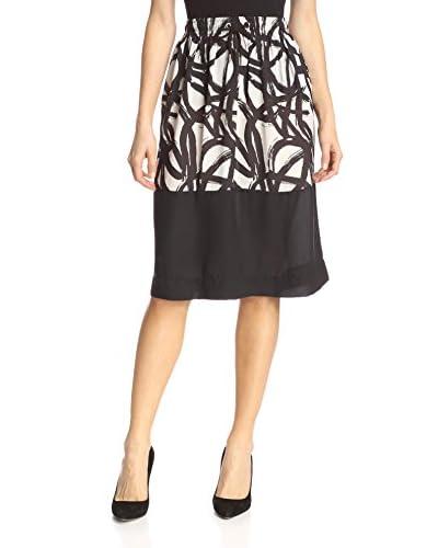 Gat Rimon Women's Printed Midi Skirt