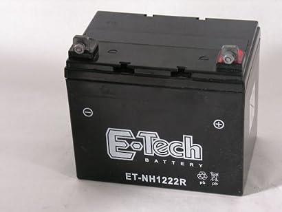 Batterie bt nh1222r für toro dh170 rasentraktoren bis 20 ps