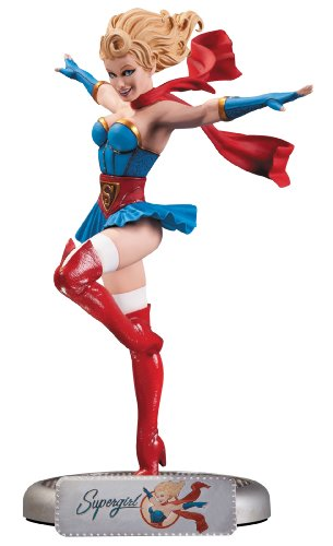 DC Collectibles Bombshells Supergirl Statue