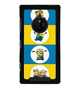 printtech Minions Back Case Cover for Nokia Lumia 830 RM-984