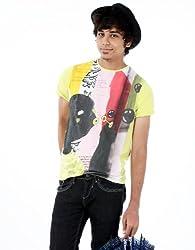 Probase Men's Crew Neck Cotton T-Shirt (Green) (8903580826119)