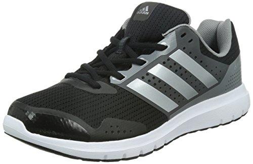 Adidas Duramo 7 M Scarpe da corsa, Uomo, Core Black/Silver Met./Ch Solid Grey, 47 1/3