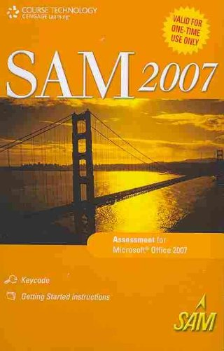 SAM 2007 Assessment One Time Use Printed Access Card