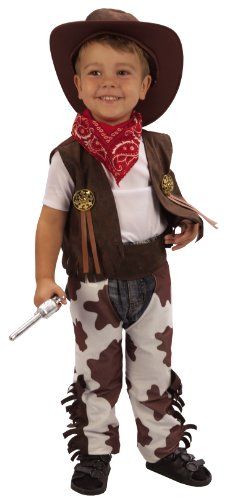 Kids Toddler Cowboy Fancy Dress Costume Ages 3 Yrs