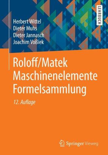 Formeln und tabellen zur technischen mechanik ingegneria for Statik formelsammlung