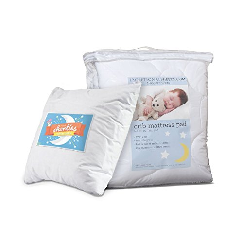 ExceptionalSheets Toddler/Crib Mattress Pad - 3 Styles available - 1