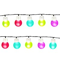 GardenKraft 75100 String Light Bulb LED Party Lights - Multi-Colour from Benross Group