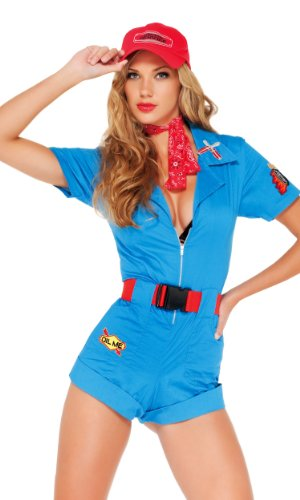Forplay Women's Pitstop Hottie Adult Sized Costumes