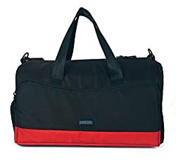Protecta Alpha Gym & Travel Duffel (Black & Red)