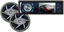 Absoltue DMR-390TPKG 3.5-Inch In Dash TFT/LCD Multimedia Player with 6.5-Inch Speaker Package