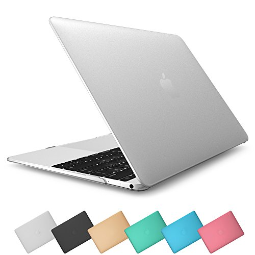 i-Blason Apple New Macbook Case, Retina Display 12 '' Inch Laptop Computer [2015 Release] Hard Shell Protective Case, Matte Finish (Frost Clear)