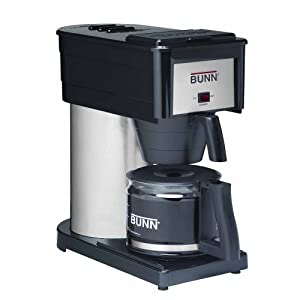 BUNN BXBD Velocity Brew High Altitude 10-Cup Home Brewer, Black by Bunn