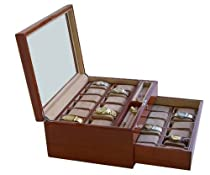 Deluxe 24 watches watch box