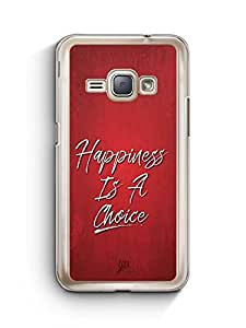 YuBingo Happiness is a Choice Designer Mobile Case Back Cover for Samsung Galaxy J1 2016