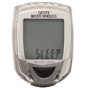 Cateye Cat Eye Micro Wireless Computer, Silver