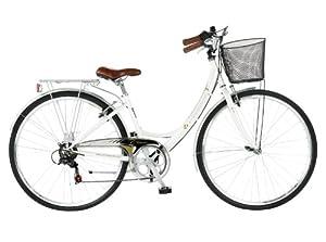 Viking Women's Vitesse 6 SPD Heritage Bike - White, 16 Inch
