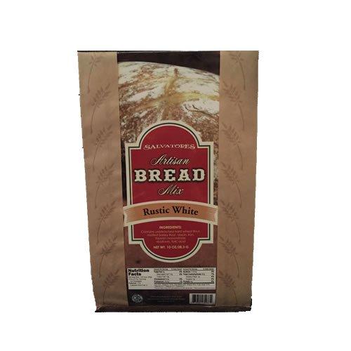 Salvatores Artisan Gourmet Rustic White Italian Bread Mix, 10oz, Pack of 3 (Bread Machine Olive Bread compare prices)
